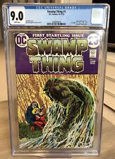 SWAMP THING #1 CGC 9.0 (DC COMICS 10-11/72) - WHITE PAGES!!!