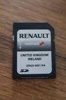 RENAULT CARMINAT TOMTOM SD CARD NAVIGATION SAT NAV MAP 25920 4051R UK  IRELAND