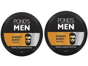 POND'S Men Energy Burst Face Gel Healthy Hydrated Energized Skin, 55g +FREE SHIP