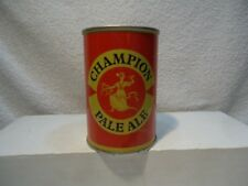 Champion pale ale Ss Pull tab 275 empty beer can