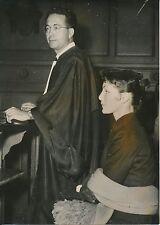 Lucky 1954 - Présidente de la Mutuelle des Mannequins  Avocat Tribunal - PR 614