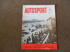 Autosport 4 April 1958 Sebring 12 Hours Lyon Charbonnieres Rally Lotus Fifteen