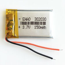 302030 3.7V 150mAh lipo Battery rechargeable For MP3 bluetooth smart watch GPS