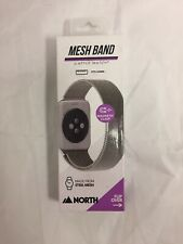 NEW North Stainless Steel Mesh Band w/ Magnetic Clasp for Apple Watch 42mm
