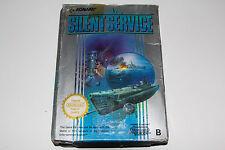 SILENT SERVICE - NES - NINTENDO