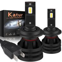 200W H7 LED Ampoule Voiture Feux Phare Lampe Kit Remplacer HID Xénon 6000K Blanc