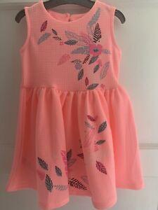 Girls Pink Dress 12-18 Months