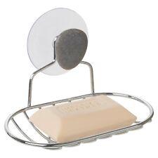 Soap Bar Holder Bathroom Shower Suction Hanging Rack Stainless Steel Caddy Shelf