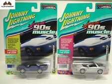 Johnny Lightning 1999 Pontiac Firebird Trans AM WS6 Set of 2 JLSP028/AB - 18ZB