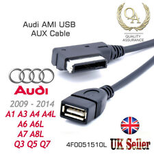 AUDI VW Music Interface MDI MMI AMI to USB Cable Data Sync Charging Adapter Lead