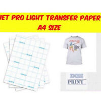 A4Size Inkjet-Transferpapier zum Aufbügeln von T-Shirts für helle BaumwollfTPI