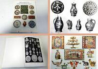 Bossert: Ornamente der Volkskunst Keramik Holz Metall ... Wasmuth Verlag 1968