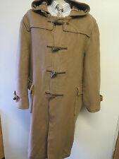 """Original abrigo Burberry Lana Duffle De Lona Impermeable L 44-46"""" euro 54-56 - Brown"""