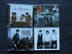4 CD s JONAS BROTHERS  Nick Jonas