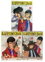 30 Dvd x 3 Box Set LE NUOVE AVVENTURE LUPIN III THE 3rd LA SECONDA SERIE complet