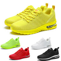 Women's Air Cushion Running Sneakers Casual Sports Breathable Tennis Shoes Gym