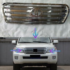 Fit For Toyota Land Cruiser LC200 2013-2015 Car Front Bumper Upper Grille Grid