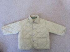 618f5780ac6db Unisex Benetton Beige Quilted Jacket - Age 12 months 74cms