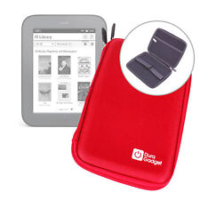 Red Hard EVA Cover Case for Barnes & Noble 2013 Nook Simple Touch / Glowlight