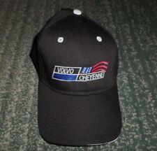 Men's Black VOLVO CHEYENNE WYOMING Embroidered Logo Hat, Adjustable Strap, GUC