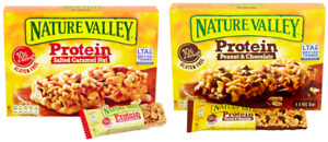 Nature Valley Protein Salted Caramel Peanut Chocolate 24/36/72x 40g BB 08/09/21