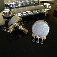 1X CTS TAOT CUSTOM  Pots SHORT Split Audio Taper - 5% Tolerance (500K - 550K)