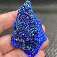 85g Natural azurite/malachite crystal ore mineral 763