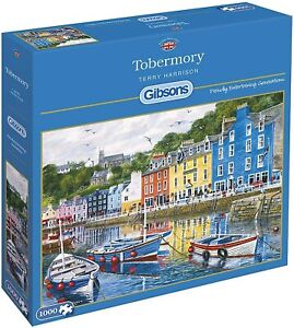 Gibsons Jigsaw Puzzle 1000 Piece - Tobermory