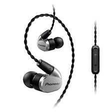 PIONEER Hi-Res Canal type Earphone SE-CH5T-S Silver New in Box