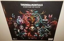 THUNDAMENTALS EVERYONE WE KNOW (2017) BRAND NEW SEALED COLOURED VINYL LP