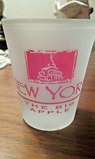 "Shot Glass, New York City, ""The Big Apple"""