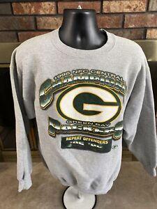 Vintage Starter Green Bay Packers NFL Football Crewneck Sweatshirt Mens Size L
