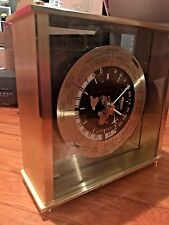 SEIKO SEIKOSHA Translucent TOP Clock CITY NAME World Time Mantel/Shelf parts