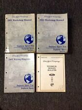 2001 Ford Explorer Sport Trac Service Shop Repair Manual Set W EWD & TSB OEM