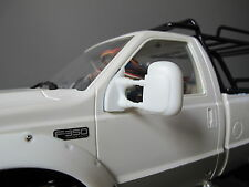 White Rubber Side Mirror Tamiya RC 1/10 Ford F350 High Lift Juggernaut Truck