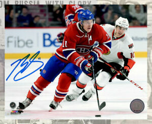 Brendan Gallagher Montreal Canadiens Autographed 8x10