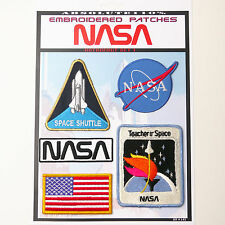 NASA Astronaut Space Shuttle Patches - Iron-On Patch Mega Set #43 - FREE POST
