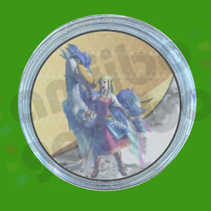 AVAILABLE Zelda and Loftwing | Amiibo COIN for Legend Of Zelda: Skyward Sword HD