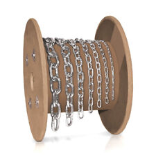 lfm 2mm Kette Eisenkette Rundstahlkette kurzgliedrig