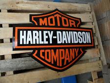 HARLEY DAVIDSON  - Garage dealership Metal Porcelain Enamel Sign  25  X 20 Inch
