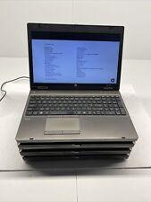 Lot Of 4 HP ProBook 6565B AMD A6-3410MX @ 1.6 Ghz 4GB No HD/OS