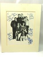 Married With Children Cast Photo Autographed by 5 cast members 1986