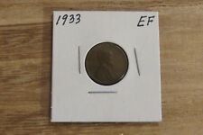 1933 Lincoln Cent (EF)