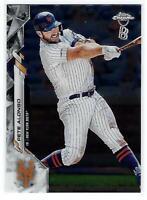 2020 Topps Chrome Ben Baller #80 Pete Alonso - New York Mets