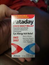 Pataday Once Daily Eye Allergy Itch Relief Eye Drops, 2.5 ml exp 06/21
