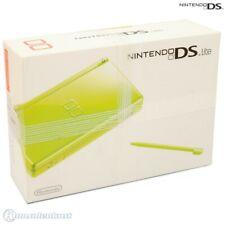 Nintendo DS - consola Lite #verde + fuente de alimentación en el embalaje usado