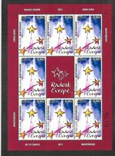 MONTENEGRO Sc 323 NH issue of 2012 - MINISHEET - EUROPA