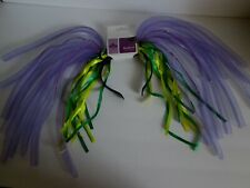 Mardi Gras Light-Up Headband New Orleans Pigtails Headpiece Carnival