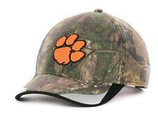 New Licensed Clemson Tigers Realtree Camo Hideout Adjustable Hat _________B21