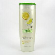 (0,80/100ml) Neobio Duschgel Vitality Bio Orange Limone 250 ml